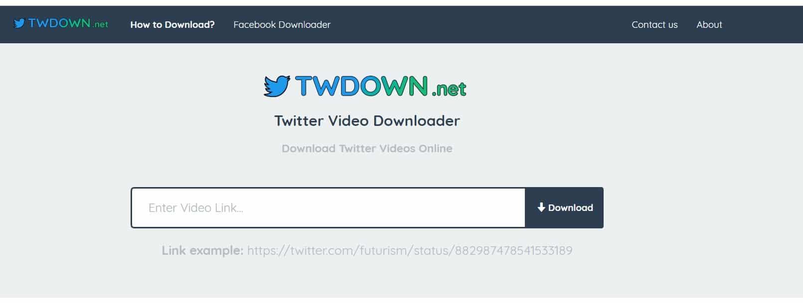 Web para bajar vídeos de Twitter